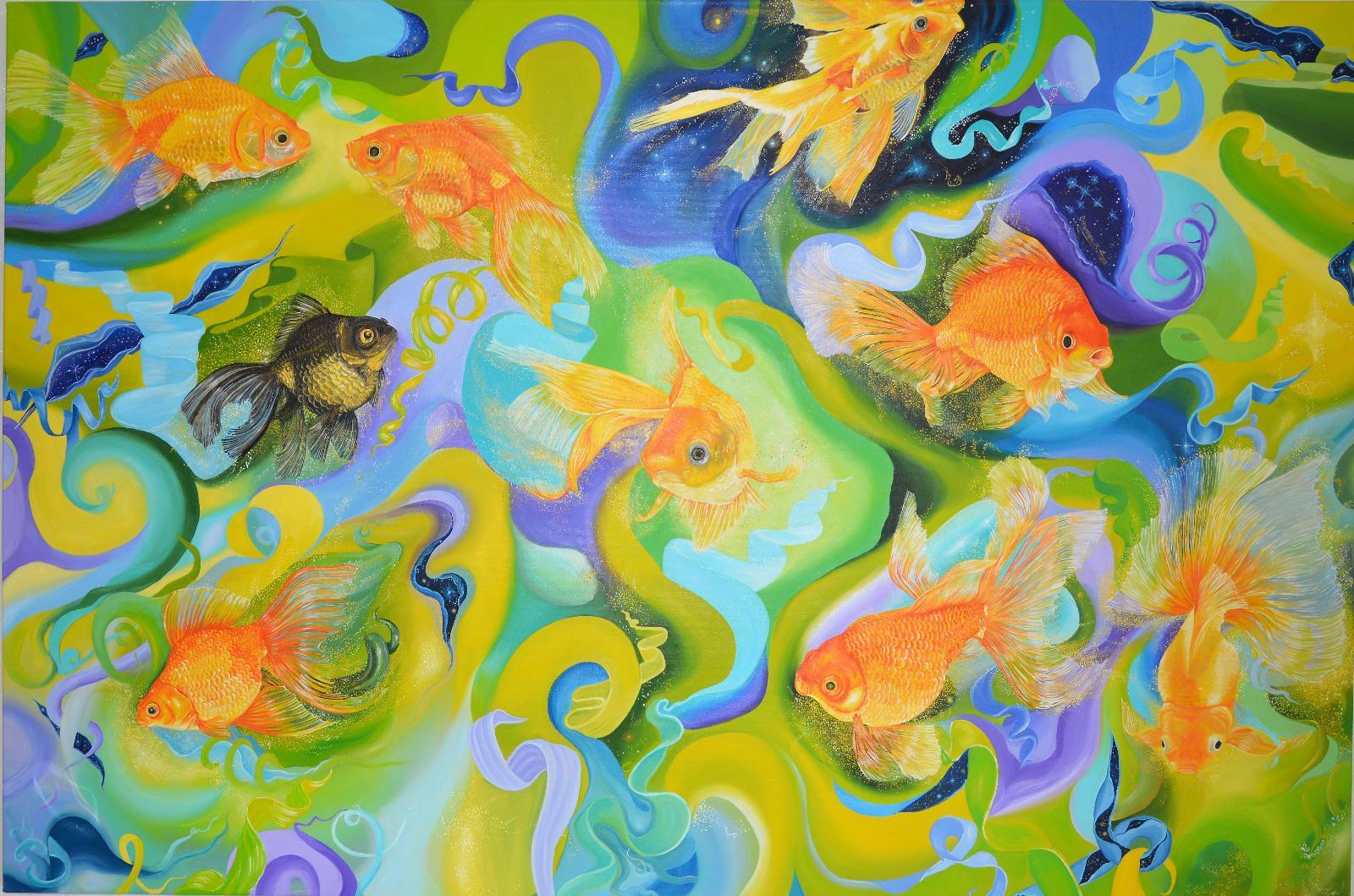 Feng Shui искусство живопись чертежи фото галерея
